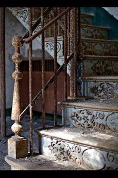 Rusty Stairwell