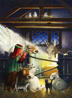 Lyn Bywaters - Nativity