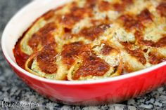 PANELATERAPIA - Blog de Culinária, Gastronomia e Receitas: Conchiglioni de Brócolis e Ricota