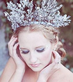beautiful ice crown