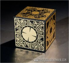 Hellraiser Puzzle Box Foil Face Design