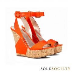 Holly wedge sandal  from ILoveCuteShoes.com