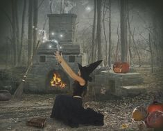 May the Good Witch make a spell to keep you from evil and harm....