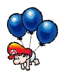 Balloon Baby Mario