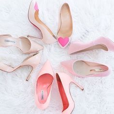Krystal (@moonfaceangel) • Instagram photos and videos Pink Wedges, Pink Sandals, Pink Heels, Feminine Decor, Kinds Of Colors, Pink Boots, Pink Sneakers, Everything Pink, Shabby Chic Style