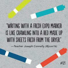 Nothing like a brand new marker! Nothing like a brand new marker! Related posts:If You're A Teacher And None Of These Make You Laugh, Nothing WillNine of the Funniest Letters Forged by KidsEs gibt. Teacher Humour, Teacher Hacks, Teacher Stuff, Funny Teacher Memes, Teacher Qoutes, Marker, Classroom Humor, Classroom Ideas, Teaching Memes