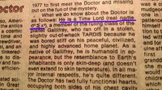 The Doctor's real name revealed in 1980 comic book. Credit to u/swanzie for image.