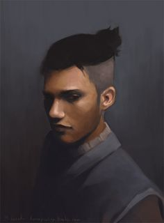 Sokka - Avatar and Legend of Korra Realistic Portraits