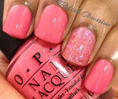 Polish Obsession: OPI - Elephantastic Pink Love pink nails for summer Get Nails, Fancy Nails, Love Nails, How To Do Nails, Pretty Nails, Hair And Nails, Nails Polish, Nail Polish Colors, Pink Polish