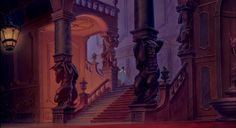 Beauty and the Beast Walt Disney Classic - Belle explores the Beast's Castle's forbidden West Wing!