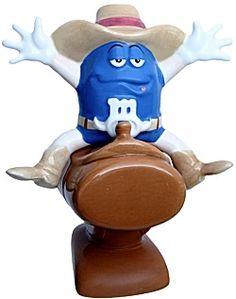 M Riding Cowboy Salt & Pepper Shakers,