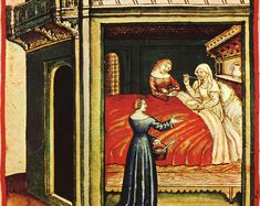 How a Medieval Bed Should Look Like - Medievalists.net