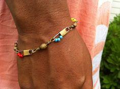 loveloveloves: Fishing Tackle Bracelets