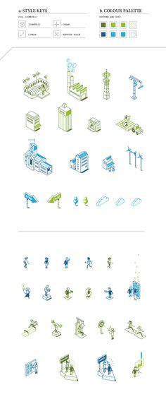 A selection of illustration projects made for differents government institutions around the world.For this kind of commissions I usually develop specific styles. With a synthetic design approach and full of personality.The stylistic criteria are always … Technical Illustration, City Illustration, Digital Illustration, Illustration Styles, Shape Design, Icon Design, Logo Design, Graphic Design, Isometric Art
