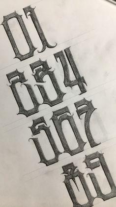 Graffiti Lettering Fonts, Tattoo Lettering Fonts, Types Of Lettering, Lettering Design, Typography, Tag Alphabet, Hand Lettering Alphabet, Calligraphy Alphabet, Aztec Drawing