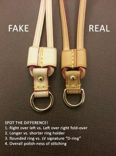 Encuentra a diferenciar entre una pieza original y una falsa. #lofalsotequedamal