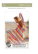 Gratis haakpatroon granny stripes deken