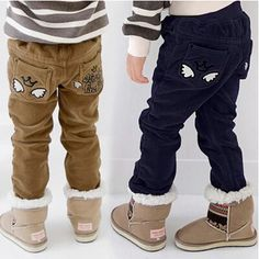 Free Shipping Winter Children's Wing Corduroy Pants Baby Boys Thick Casual Trousers,High Quality trousers skirt,China trouser suits Suppliers, Cheap pants patch from Kids Fashion Clothing - Worldwide Wholesale  on Aliexpress.com Trouser Socks, Trousers, Winter Kids, 2016 Winter, Baby Outfits, Kids Outfits, Boys Winter Clothes, Kids Boys, Baby Boys