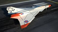 CF-XX Super Arrow Next Generation Stealth Interceptor concept aircraft. Military Jets, Military Aircraft, Air Fighter, Fighter Jets, Avro Arrow, Helicopter Cockpit, Aircraft Painting, Aircraft Design, Fighter Aircraft