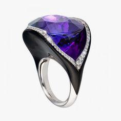 Кольцо с аметистом от Dietrich