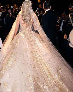 mythical wedding that marked history in the world of fashion. Lebanese fashion designer Elie Saab celebrates his eldest son's wedding