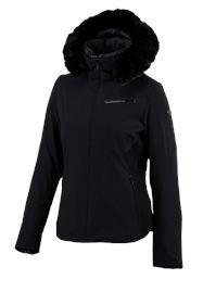 Spyder posh faux fur ski jacket £420