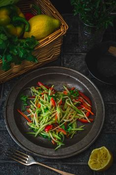 There is nothing complicated here. This Asian salad is wonderfully […] Types Of Salad, Salad Bowls, Coriander, Beets, Lettuce, Food Styling, Food Photography, Salads, Veggies