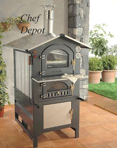 Italian wood fired oven is eco friendly