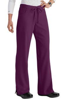 Greys Anatomy 5 Pocket Drawstring Scrub Pants Main Image