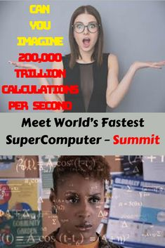 Meet World's Fastest SuperComputer – Summit Oak Ridge National Laboratory, Serious Business, Stand Tall, World, The World, Aim High