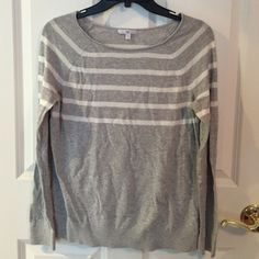 Gap Striped Sweater Gently worn. Great condition. Very lightweight. GAP Sweaters