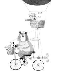 может быть придумать какого-нибудь смешного милого персонажа компании, как этот медведь?))
