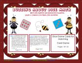 FREE Dice Math 50 page PDF for Grade 1 Common Core Standards product from Wise-Owl-Factory on TeachersNotebook.com