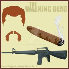 The Walking Dead : Abraham by HENRyAPE