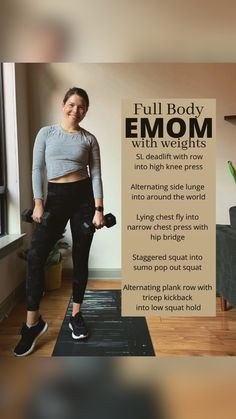 Hitt Workout, Dumbbell Workout, Diet Exercise, Excercise, Strength Workout, Strength Training, Body Workouts, At Home Workouts, Tabata