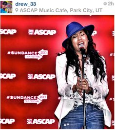 Melanie Fiona at The Sundance Film Festival