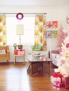 Our holiday decor and home are featured in issue #46 of Mollie Makes Magazine!