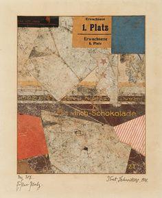 Kurt Schwitters, 'Erster Platz - Mz 307 Jettchen',  Paper Collage, 1921 Hugh Marwood: Kurt's Cuts: 'Schwitters In Britain'