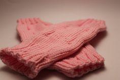 Stulpen - Strickstulpen - Stulpen handgestrickt - rosa - ein Designerstück von Strickarella bei DaWanda