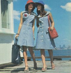 1970s chambray dresses