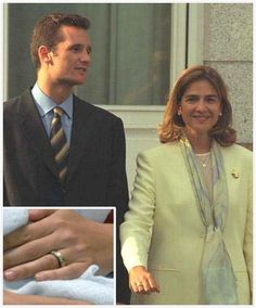 Infanta Cristina of Spain engagement ring