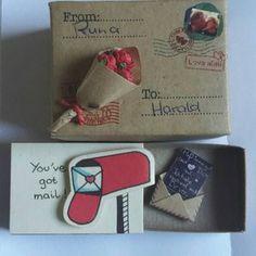 Witty Birthday Matchbox-cards - Set of Happy Birthday/ Gift for Him/Gift for Her/ Cute Birthday Cards/ Surprise Birthday Gifts/ Funny Valentine, Best Friend Valentines, Valentine Love Cards, Surprise Birthday Gifts, Cute Birthday Cards, Personalised Valentines Cards, Cute I Love You, Love Gifts For Her, Matchbox Crafts