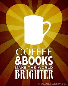 coffee and books Coffee amp; Books Coffee Art Print Poster Book Art by meganlee Coffee And Books, Coffee Art, Book Lovers Gifts, Book Gifts, Science Quotes, Coffee Poster, Gifts For Readers, Happy Art, Wall Art Quotes