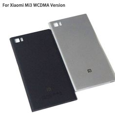 Battery Door Rear Cover For Xiaomi Mi3 M3 Mi 3 WCDMA Version Back Housing Phone With SIM Card Tray Side Buttons LOGO 4 Colors