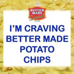 I'm Craving #BetterMade Potato Chips