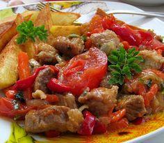 Удивительно вкусное и ароматное мяско!!! Кто еще не пробовал, тот обязательно должен приготовить и сполна насладится им!!! В Абхазии это чудесное мясо с овощами можно встретит в любой кафешке, или ре…