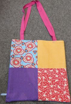 Patchwork Tote for C (Side 1)