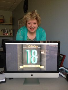 Chief Marketing Officer, Nancy Schuman, says it's good to be 18 again! Work Anniversary, Marketing, Sayings, Tv, Celebrities, Celebs, Celebrity, Word Of Wisdom, Famous People