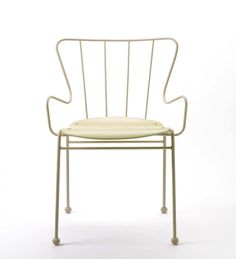Race Furniture Antelope White Chair