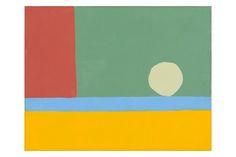 ETEL ADNAN http://www.widewalls.ch/artist/etel-adnan/ #abstractart #painting